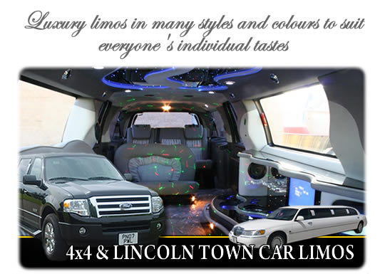 Limo hire in Wigan, Lancashire graphic